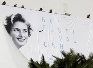 Ingrid Bergman nel manifesto di Cannes