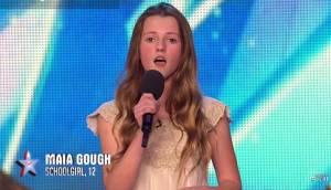 Britain's Got Talent, Maia incanta tutti a 12 anni cantando Whitney Houston VIDEO
