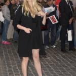 """Martina Stella presenta """"Rosso Mille Miglia"""" il look total black 11"""