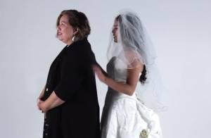 Matrimonio: indossa vestito da sposa della mamma. La reazione VIDEO