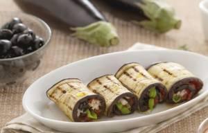 Ricette di finger food: involtini di melanzane alla mediterranea