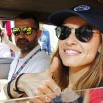 Martina Stella, Kasia Smutniak in gara alla Mille Miglia 18