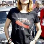Martina Stella, Kasia Smutniak in gara alla Mille Miglia 17