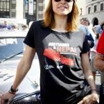 Martina Stella, Kasia Smutniak in gara alla Mille Miglia 5