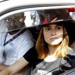 Martina Stella, Kasia Smutniak in gara alla Mille Miglia 13