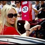 Martina Stella, Kasia Smutniak in gara alla Mille Miglia 12