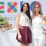 Clarissa Marchese e Giulia Arena, due Miss Italia ai fornelli di Expo 06