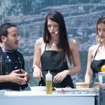 Clarissa Marchese e Giulia Arena, due Miss Italia ai fornelli di Expo 08