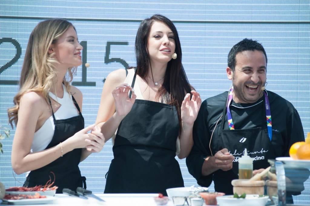 Clarissa Marchese e Giulia Arena, due Miss Italia ai fornelli di Expo