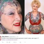 Addio a Isobel Varley: la nonna più tatuata del mondo FOTO 1