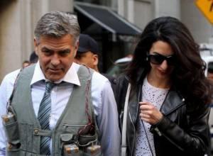 Amal Alamuddin in crisi con Clooney per colpa di Cindy Crawford?