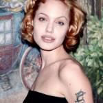 Angelina Jolie, com'era e com'è. L'attrice compie 40 anni FOTO 63