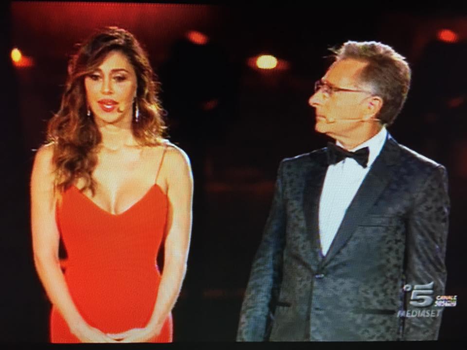 """Belen Rodriguez-Elena Santarelli lite dopo il programma """"Lo spettacolo sta per iniziare"""""""