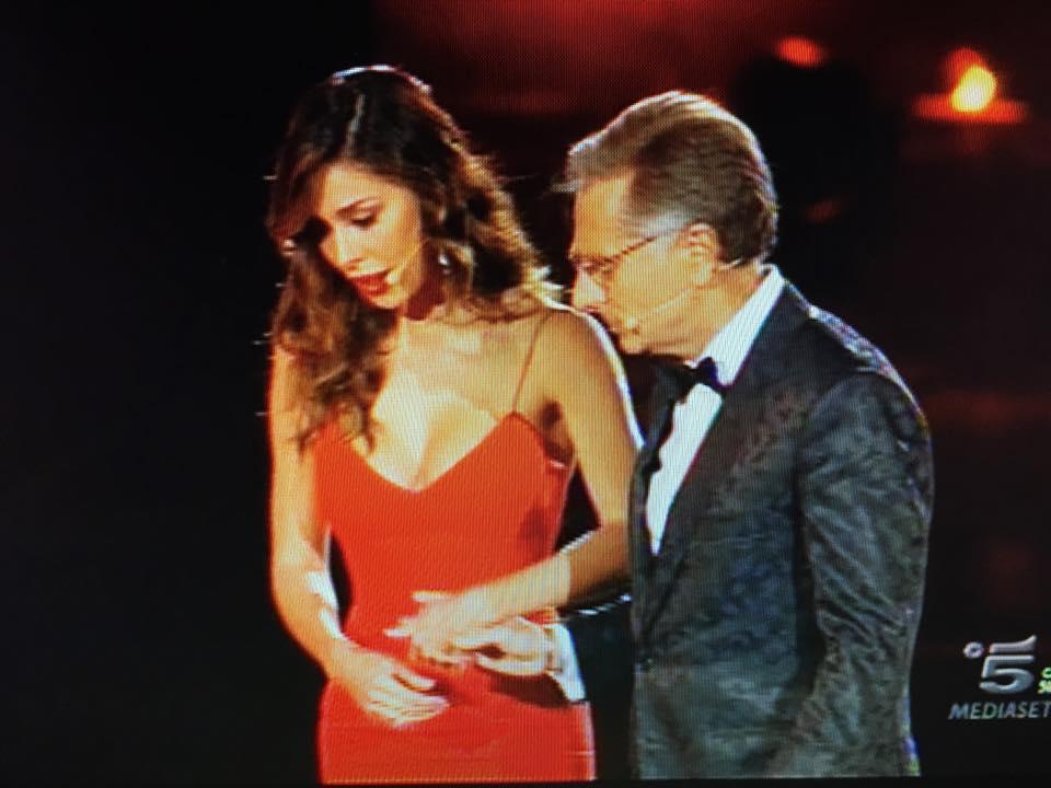 Belen Rodriguez e Elena Santarelli all'Arena di Verona FOTO