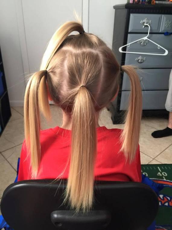 A 8 anni si fa crescere capelli per aiutare bambini malati di cancro FOTO, VIDEO