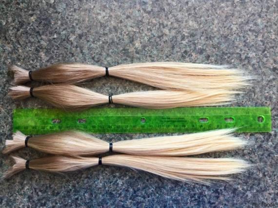 A 8 anni si fa crescere capelli per aiutare bambini malati di cancro FOTO, VIDEO04
