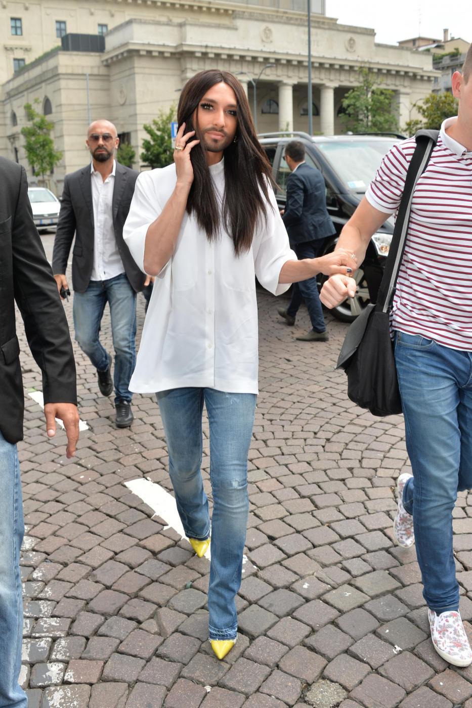 Conchita Wurst a Milano FOTO07