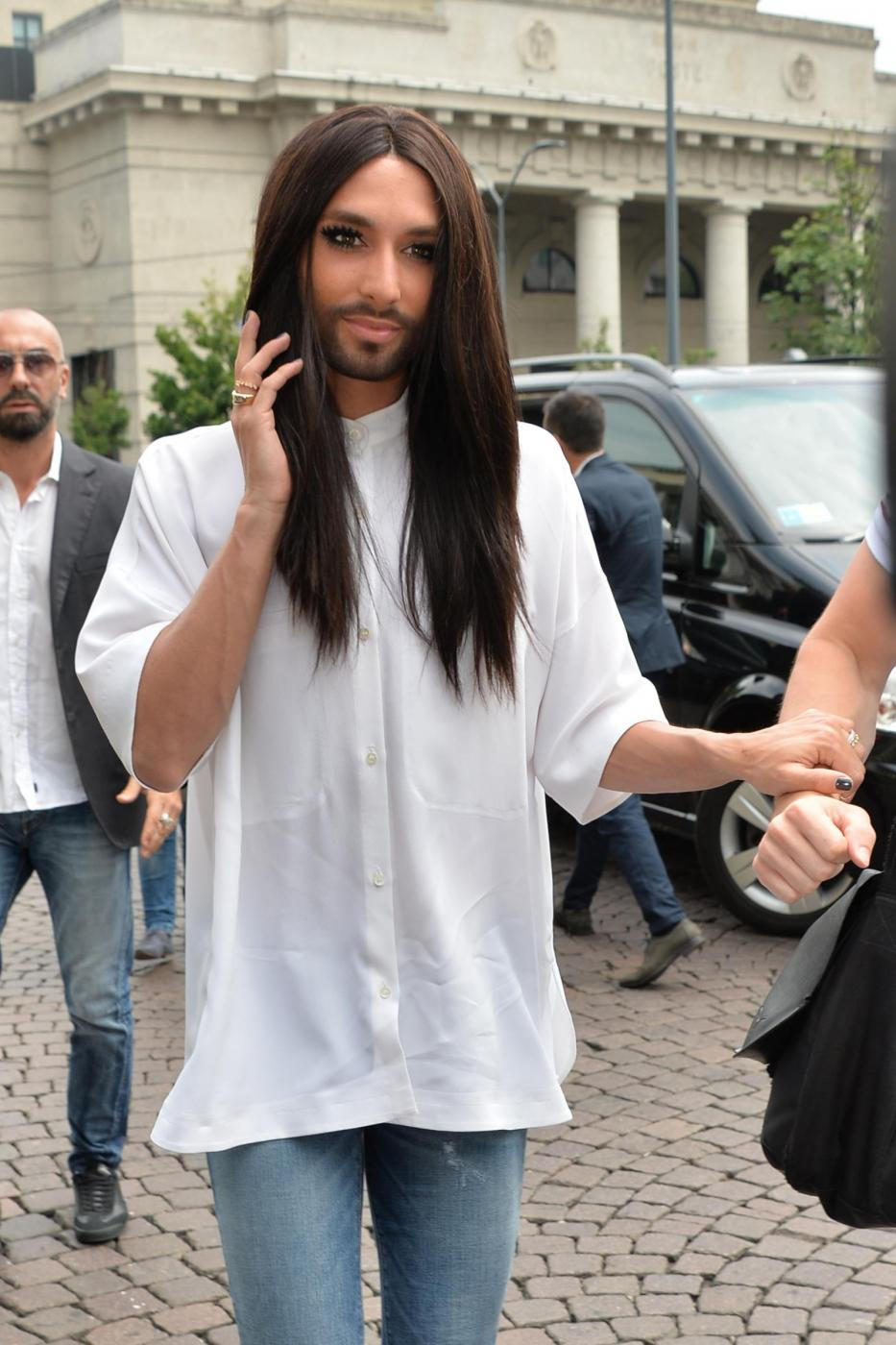 Conchita Wurst a Milano FOTO06