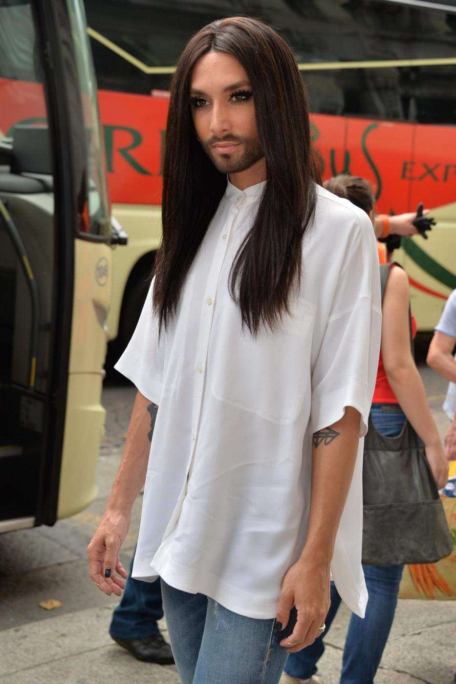Conchita Wurst a Milano FOTO05