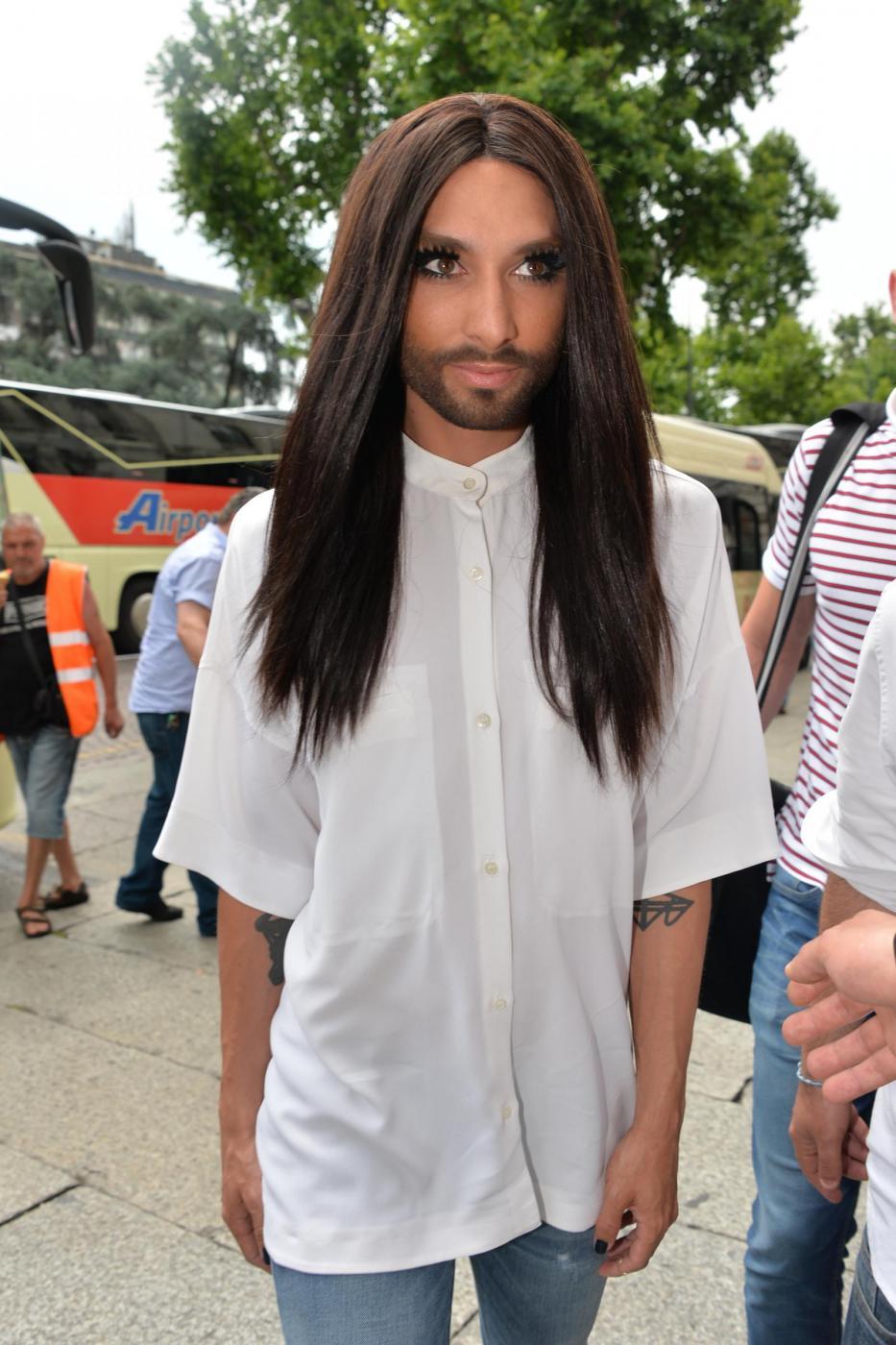 Conchita Wurst a Milano FOTO3