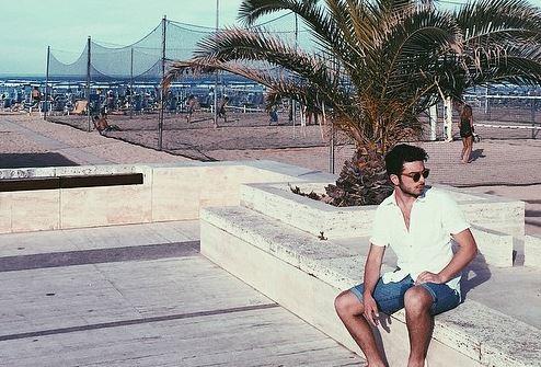 Il Volo, Gianluca Ginoble in vacanza a Roseto, Abruzzo FOTO