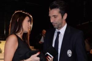"""Ilaria D'Amico su Gigi Buffon: """"Ci mandavamo 50 sms al giorno"""""""