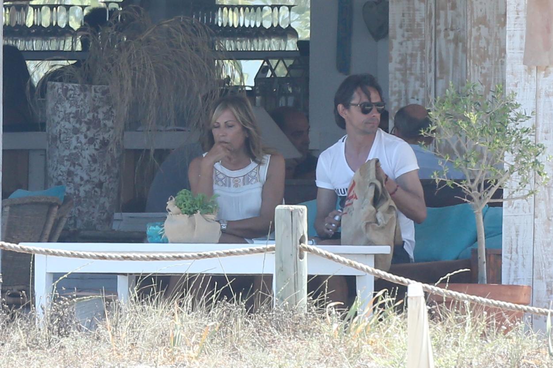 Filippo Inzaghi a Formentera con mamma e amici dopo esonero Milan09