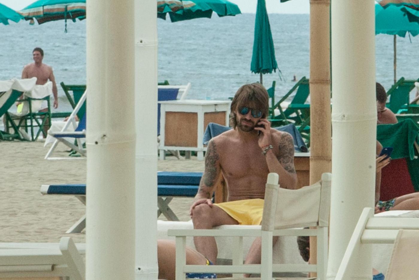 Juventus, Marco Storari al mare a Forte dei Marmi in attesa di Berlino12
