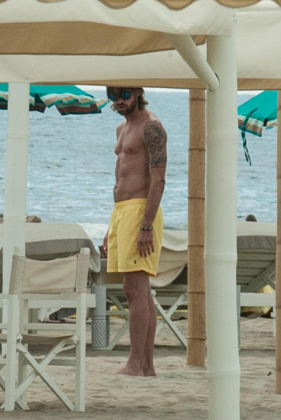 Juventus, Marco Storari al mare a Forte dei Marmi in attesa di Berlino02