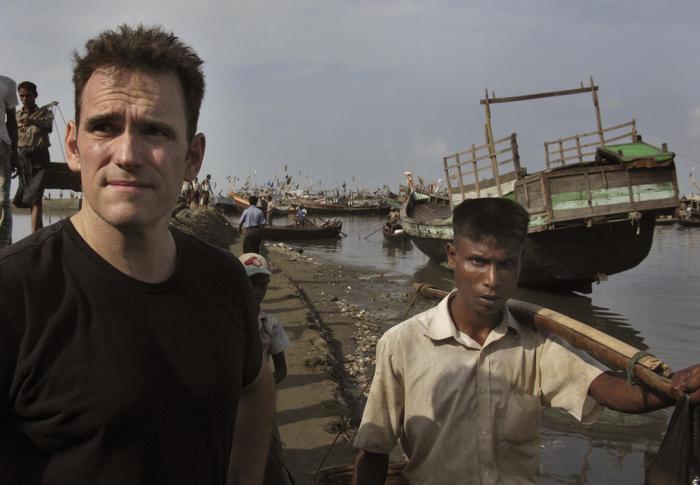 """Matt Dillon, star Hollywood visita campo profughi in Birmania: """"Straziante"""" FOTO03"""