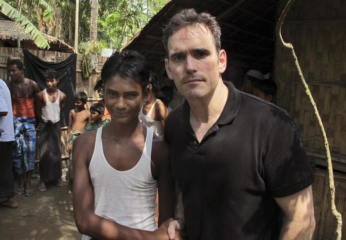 """Matt Dillon, star Hollywood visita campo profughi in Birmania: """"Straziante"""" FOTO05"""
