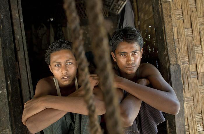 """Matt Dillon, star Hollywood visita campo profughi in Birmania: """"Straziante"""" FOTO04"""