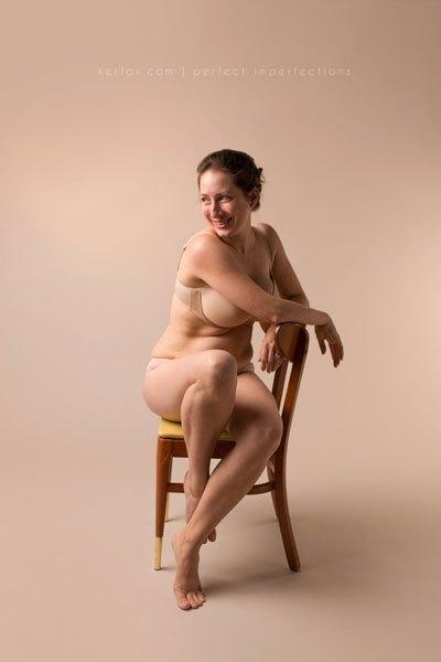 Perfect Impressions, mamme orgogliose mostrano i segni del parto07