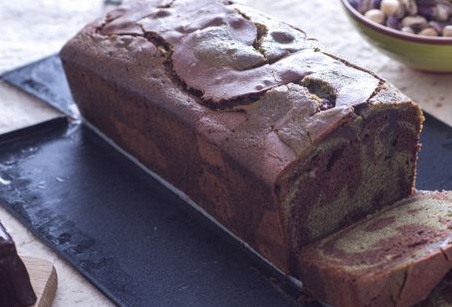 Ricetta di dolci: plumcake variegato cioccolato e pistacchio