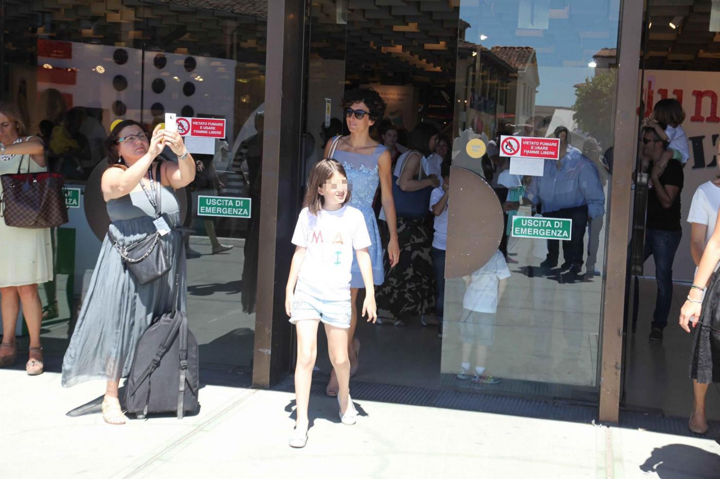 Agnese Renzi, Anna Falchi e Claudia Galanti mamme fashion a Pitti Bimbo013