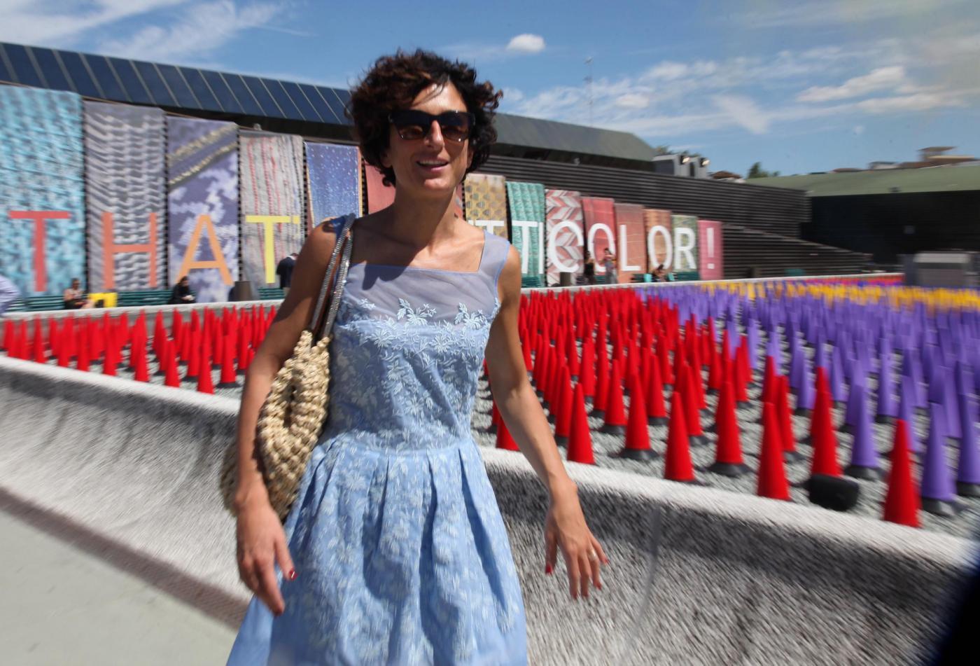 Agnese Renzi, Anna Falchi e Claudia Galanti mamme fashion a Pitti Bimbo05