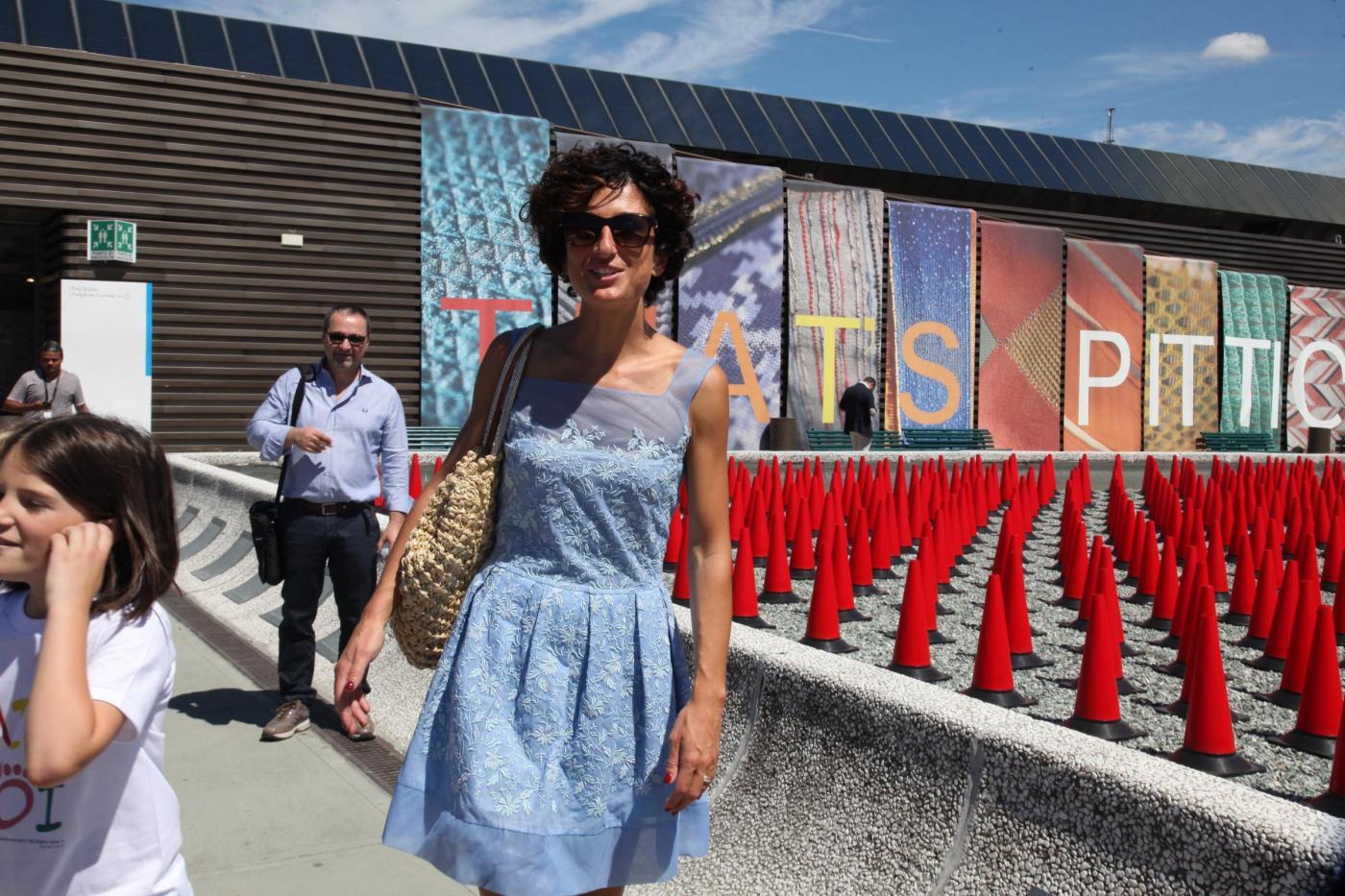 Agnese Renzi, Anna Falchi e Claudia Galanti mamme fashion a Pitti Bimbo07