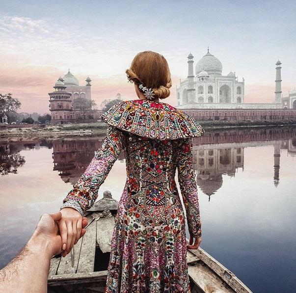 Murad Osmann condotto per mano dalla fidanzata nei posti più belli: FOTO Instagram03