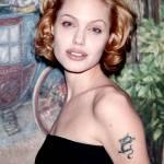 Angelina Jolie, com'era e com'è. L'attrice compie 40 anni FOTO 53