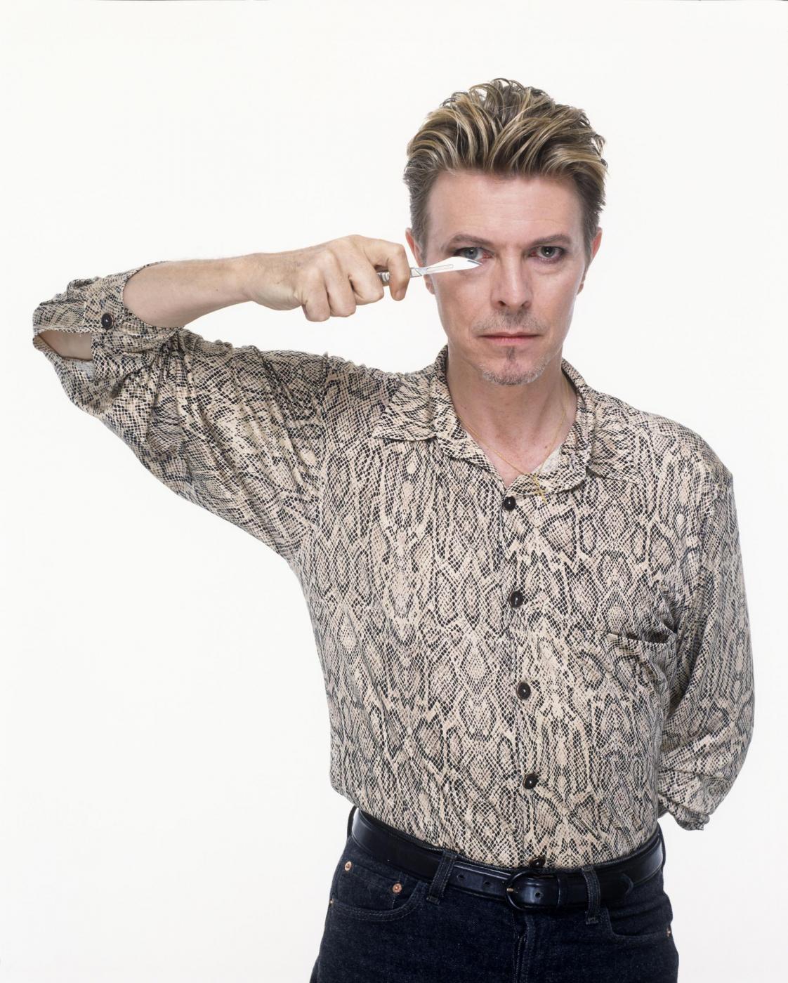 """David Bowie versione romantica. Moglie Iman: """"Mi fece trovare stanza piena di fiori"""" 8"""