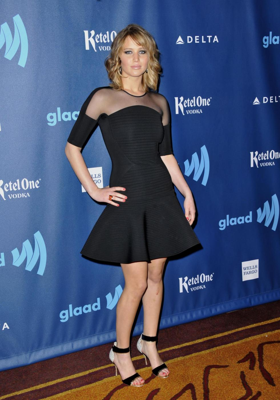 Jennifer Lawrence, com'era e com'è FOTO 59