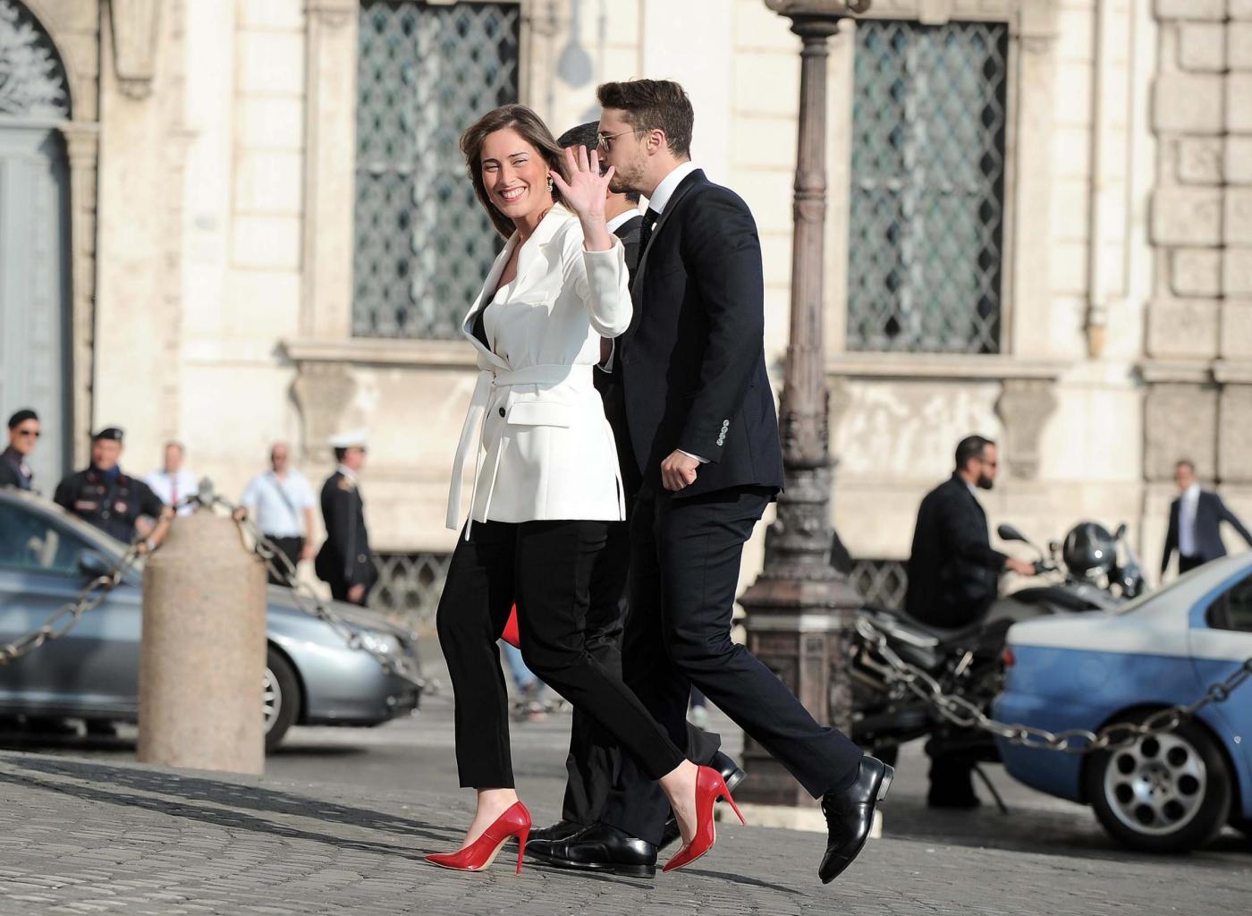 Maria Elena Boschi tacco 12, Lilli Gruber con sandali carroarmato: look dei politici al Quirinale