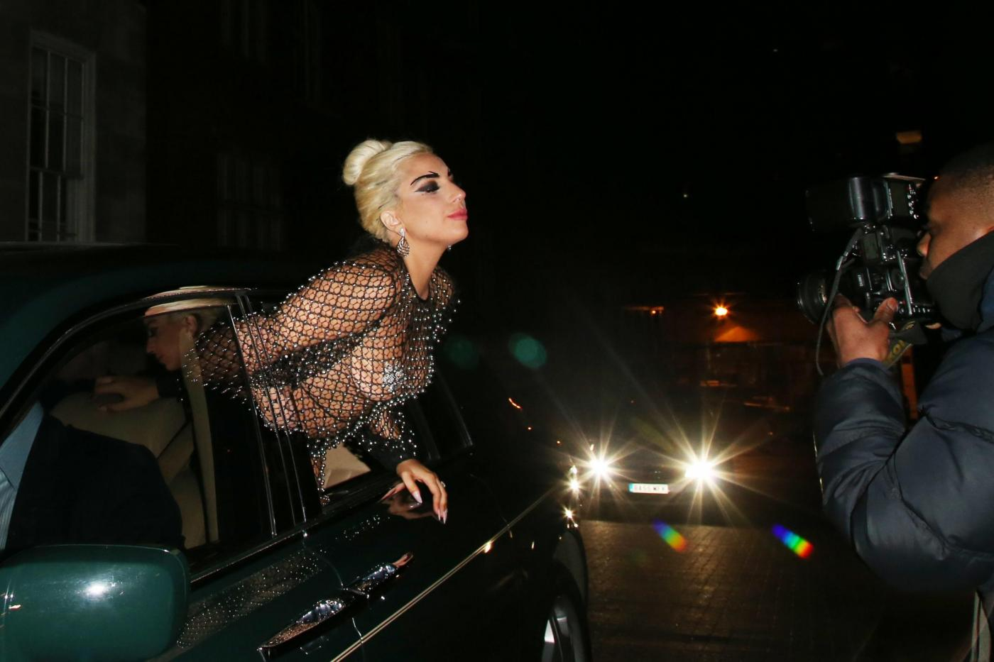 Lady Gaga: nude look estremo a Londra FOTO 11