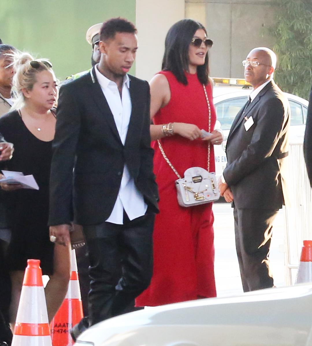 Kylie Jenner insieme al fidanzato Tyga FOTO