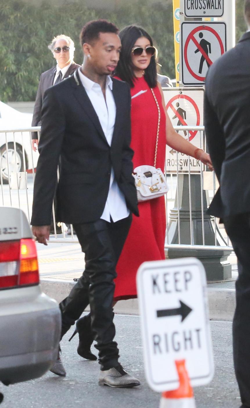 Kylie Jenner insieme al fidanzato Tyga FOTO 6