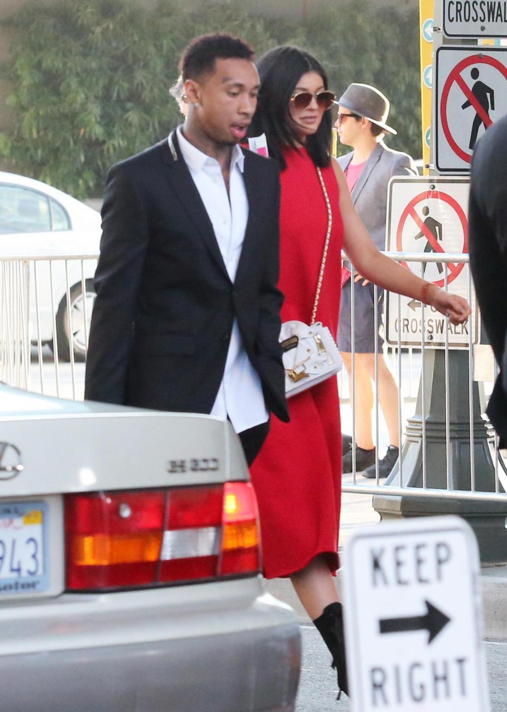 Kylie Jenner insieme al fidanzato Tyga FOTO 5