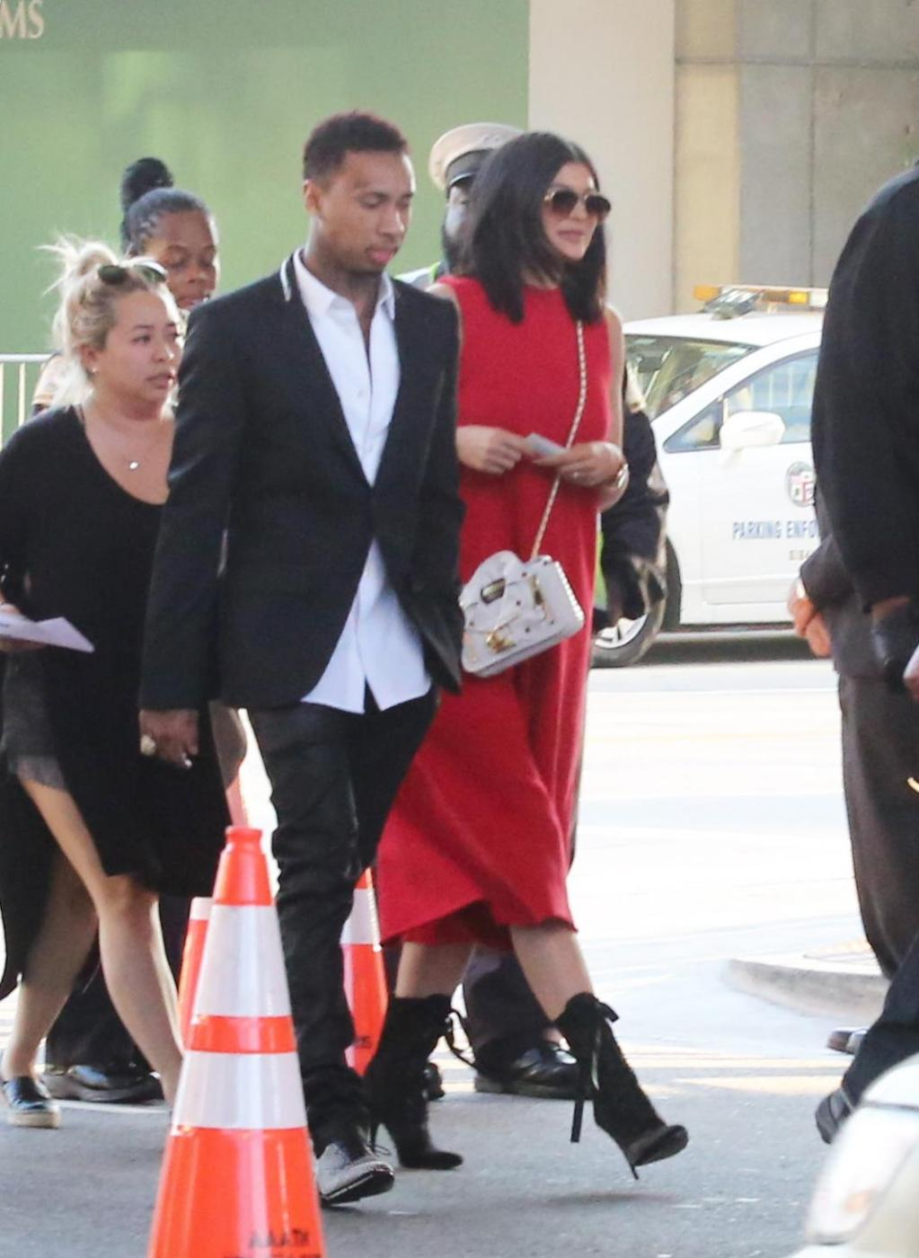 Kylie Jenner insieme al fidanzato Tyga FOTO 4