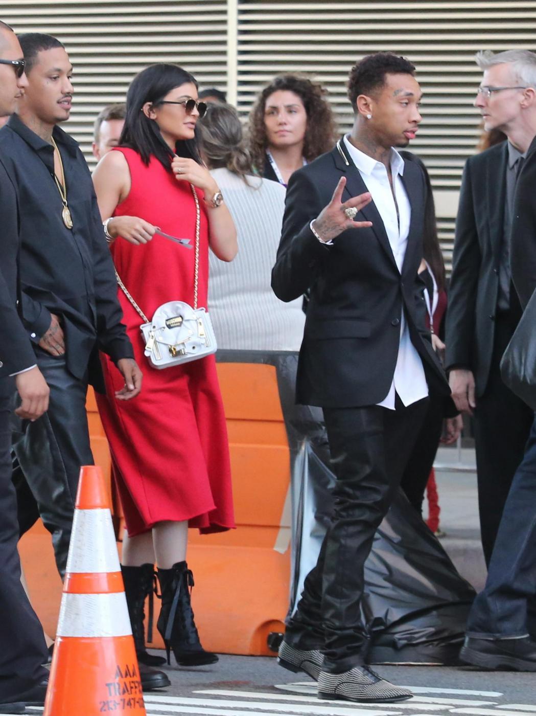 Kylie Jenner insieme al fidanzato Tyga FOTO 1