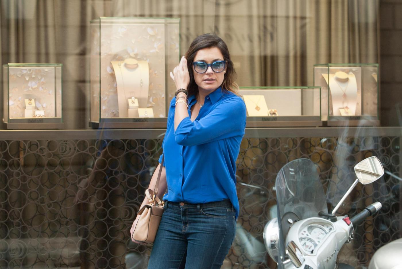 Alena Seredova e Lavinia Borromeo fanno shopping a Milano FOTO4