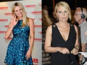 Michelle Hunziker e Maria De Filippi a Striscia La Notizia? Il gossip